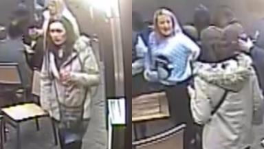 CCTV: Images have been released of two women after an assault on Rose Street