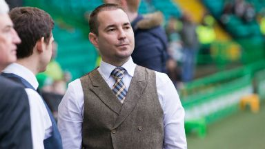 Boyhood fan: Martin Compston has also been confirmed for the May 28 charity match.