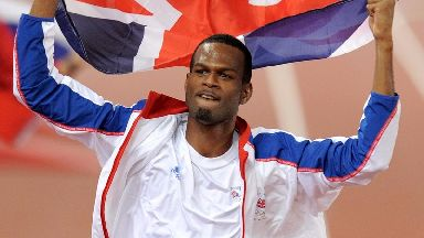Germaine Mason, pictured after winning the silver medal at the 2008 Beijing Olympics.