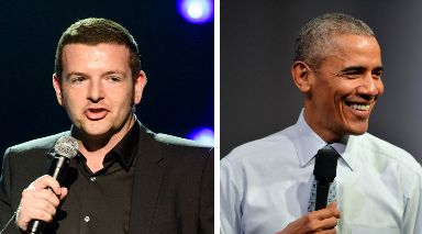 Fundraisier: Kevin Bridges will join Barack Obama at the event which aims to raise thousands of pounds for charity.