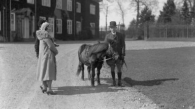 Peggy the Pony was the Queen's first horse.