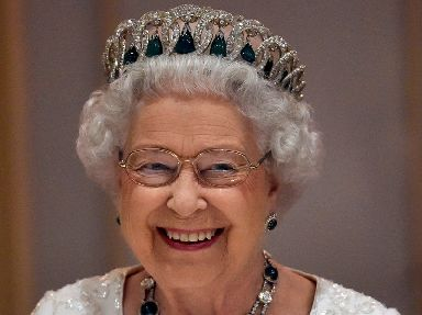 The Queen is rather fond of a tiara.