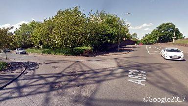Lambhill: Collision occurred on Balmore Road near Skirsa Street.