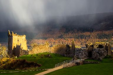 Urquhart Castle: One of Scotland's most popular paid-for attractions.