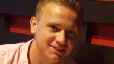 Missing: Corrie McKeague disappeared after a night out last September.