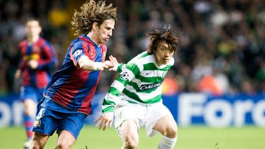 Leader: Scotland will have to get past former Barcelona and Spain captain Carlos Puyol.