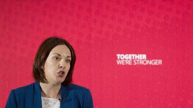 Deals: Labour leader Kezia Dugdale has suspended nine Aberdeen councillors.