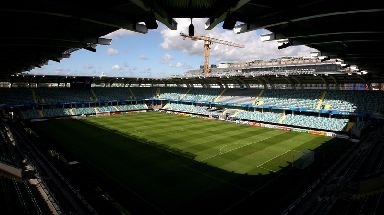 The game to be hosted by Gothenburg has been postponed.