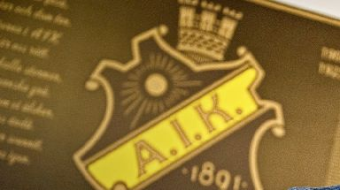 An AIK player was allegedly threatened.