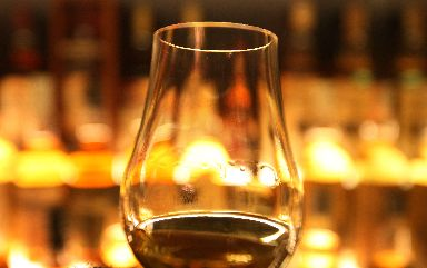 Single malt: Unnamed buyer secured bottle (file pic).