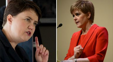 Poll: Approval ratings for Davidson and Sturgeon were also recorded.
