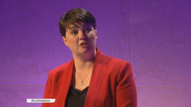 Ruth Davidson: Leaders targeted her on rape clause.
