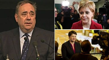 Election 2017: Alex Salmond is among a number of SNP causalities as the pro-union vote surged across the country.