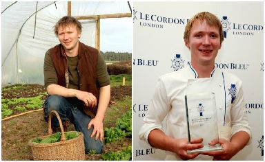 Fresh challenge: Organic farmer Nathanael will head to London.