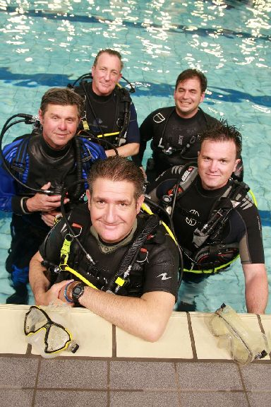 BSAC Highball dive team.
