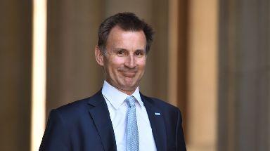 Jeremy Hunt: New foreign secretary.