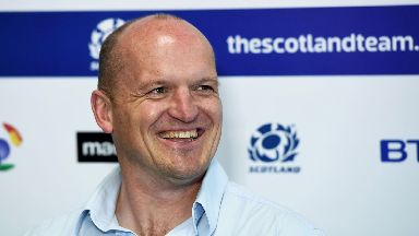 Opportunity: Gregor Townsend says there is competition for places.