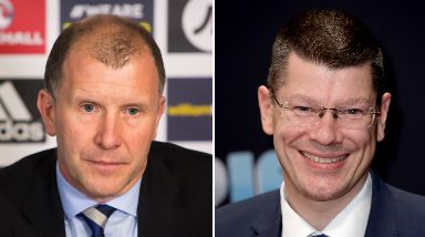 Payments: Stewart Regan and Neil Doncaster appeared before a committee of MSPs.