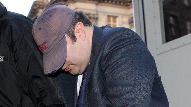 Killer: William Beggs during previous case (file pic).