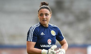 Safe hands: Fay has kept goal for the Scots over the last two decades, becoming the country's record appearance holder.