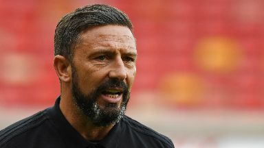 Dons draw: Mcinness will find out their possible third round opposition.