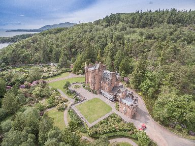 Bargain: Glenborrodale Castle is up for sale.