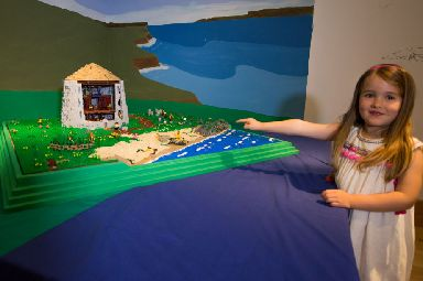 It is hoped the Lego model will help children engage with history.