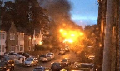 Blaze: Two cars caught fire in Clarkston.