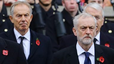 Labour: Corbyn could win from 'far left'.