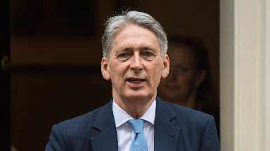 Row: Mr Hammond's remarks have sparked anger.