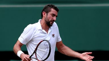 Cilic was too good for Federer.