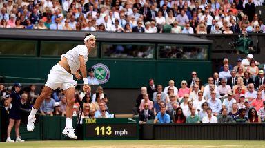 Federer was in fine form.