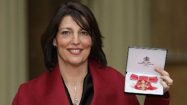 Carolyn McCall received an OBE in 2008 for services to women in business.