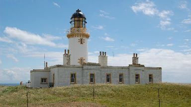 Lighthouse tower: Building not part of island deal.