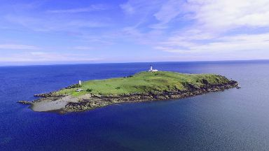 Island: Little Ross is completely off-grid, running off solar and wind.