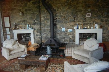 Homely: The B-listed, six-bedroom cottage.