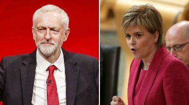 Festival: Corbyn and Sturgeon will take part in events.