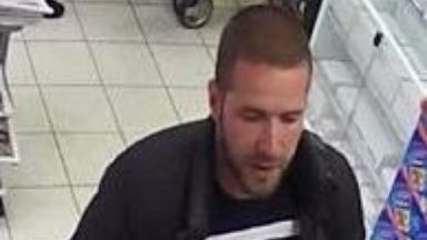 Wanted: Police are looking to trace a man pictured on CCTV.