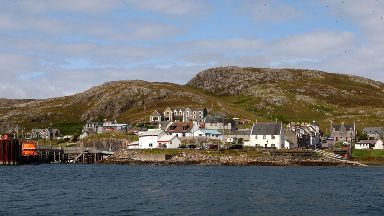 The wedding is planned on Barra on Saturday.