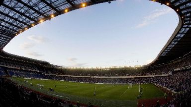 Murrayfield: Hearts will play their home games at the national rugby stadium until November.