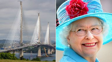 Queensferry: Crossing set to be opened in September.