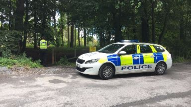 Templeton Woods: Police were called to area in Dundee on Monday afternoon.