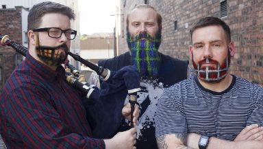 Tartan: A new beard trend could be about to take over.