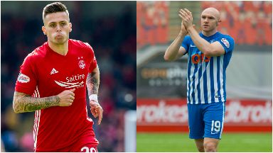 Additions: Miles Storey, left, joins on two-year deal and Conor Sammon on season loan.