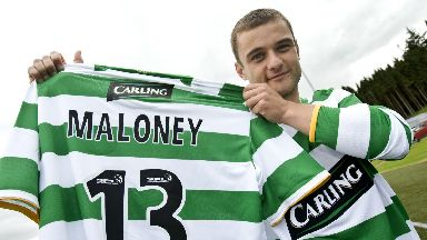 Return: Shaun Maloney struggled to settle in England.