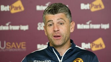 Stephen Robinson: The Motherwell boss was delighted with his team's win over Ross County on Wednesday.