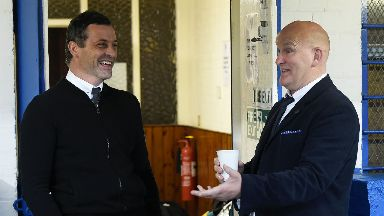 Jack Ross and Jim Duffy will go head to head this weekend.