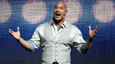 Dwayne 'The Rock' Johnson was knocked off number one - but still earned $65m.