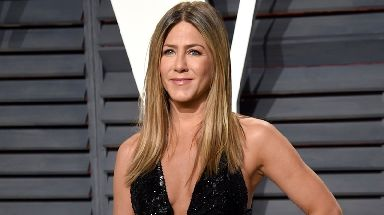 Jennifer Aniston was second on the female list.