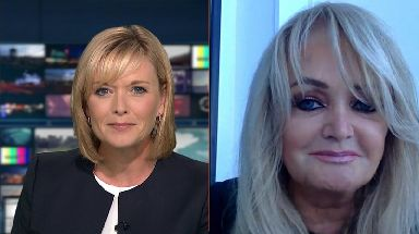 Bonnie Tyler said she's looking forward to normal life.